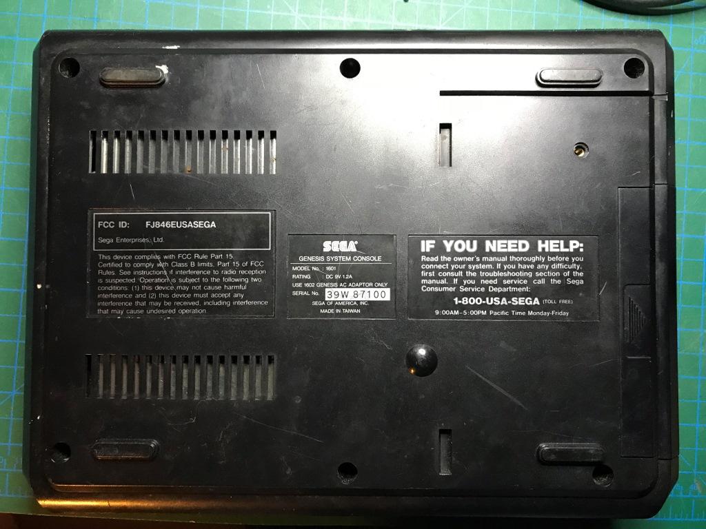 Sega Mega-Tech Repair Log - Arcade-Projects User's Repair